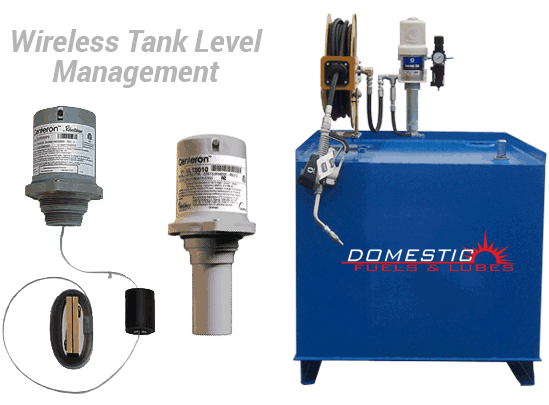 Electronic Tank Monitoring Systems for Lubricants